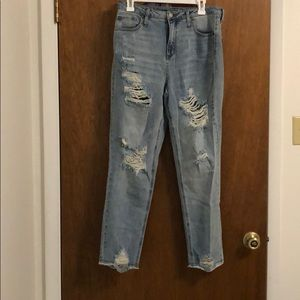 Wild Fable - Target - high waisted ripped jeans